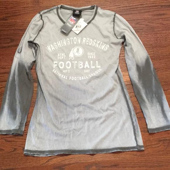 NFL Team Apparel Washington Redskins Long Sleeve T ac64ef3ab